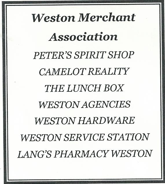 Weston Center Merchants
